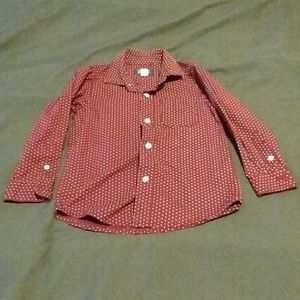3T long sleeve button down